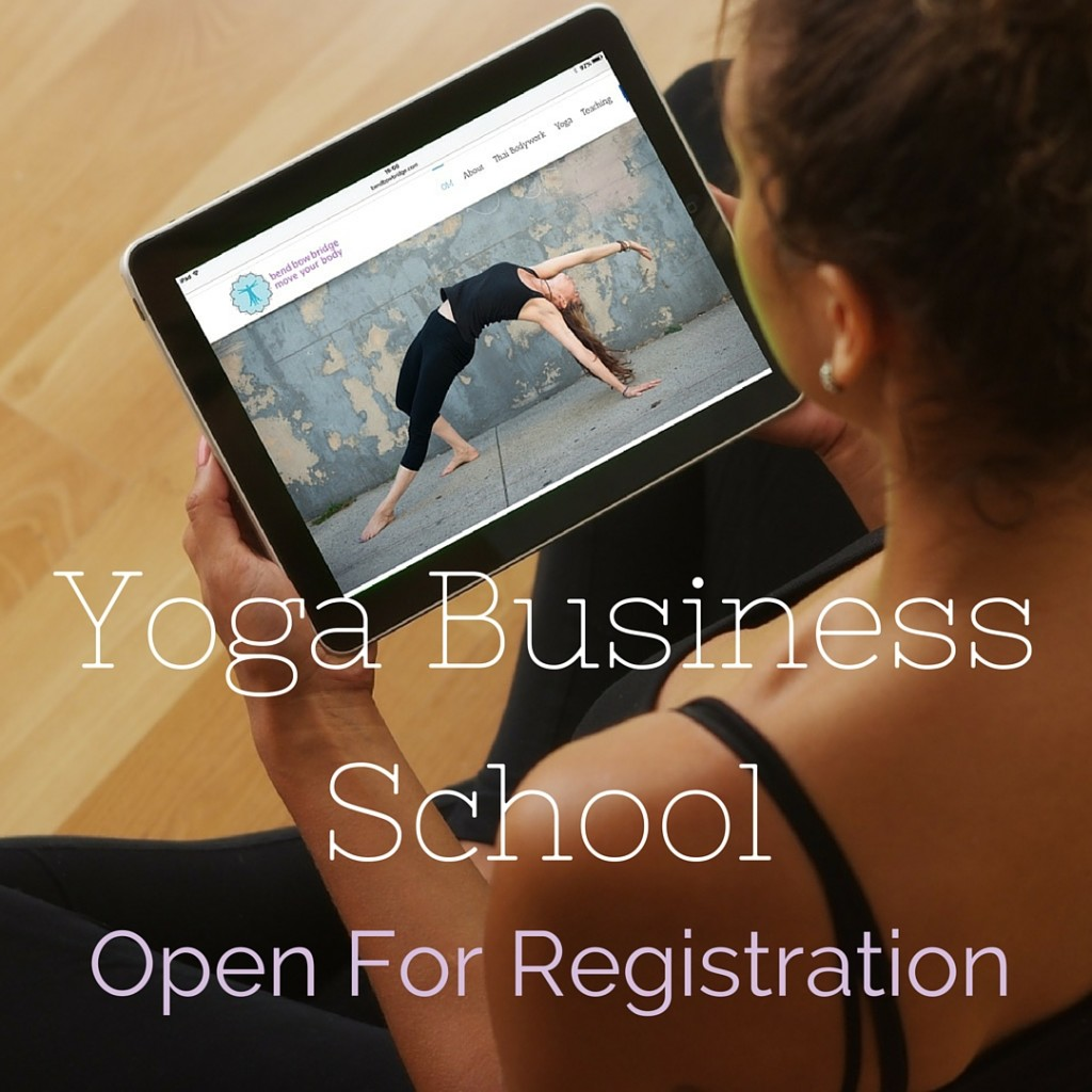 Yoga Business School - The Thriving Yogi