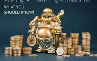 pricing private yoga sessions