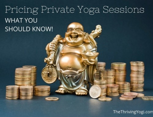 Pricing Your Private Yoga Sessions